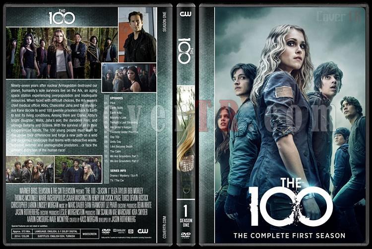 The 100 (Seasons 1-5) - Custom Dvd Cover Set - English [2014-?]-1jpg
