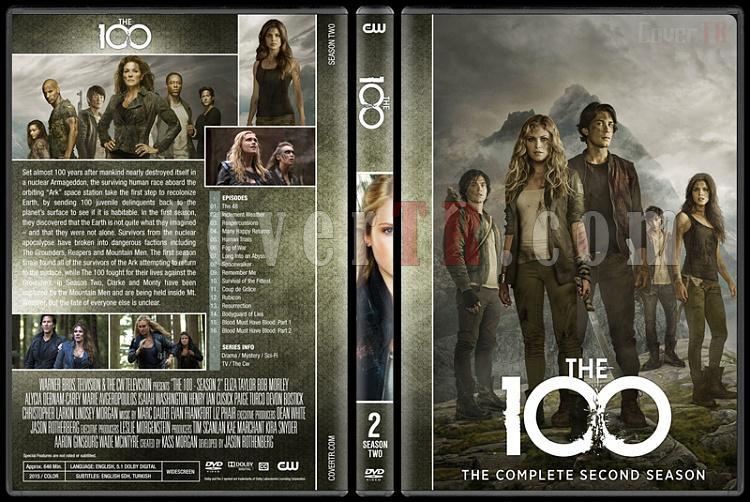 The 100 (Seasons 1-5) - Custom Dvd Cover Set - English [2014-?]-2jpg