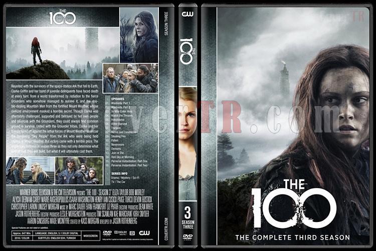 The 100 (Seasons 1-5) - Custom Dvd Cover Set - English [2014-?]-3jpg