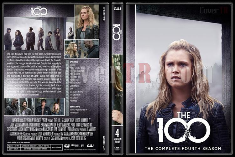 The 100 (Seasons 1-5) - Custom Dvd Cover Set - English [2014-?]-4jpg