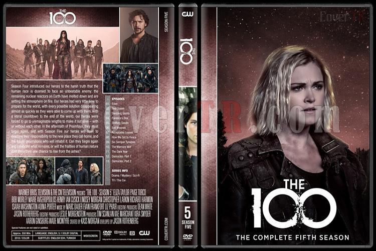 The 100 (Seasons 1-5) - Custom Dvd Cover Set - English [2014-?]-5jpg