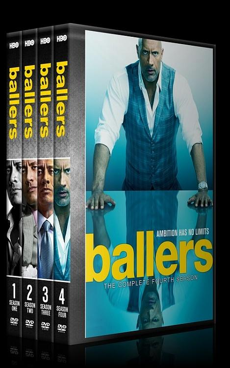 Ballers (Seasons 1-4) - Custom Dvd Cover Set - English [2016-?]-0jpg