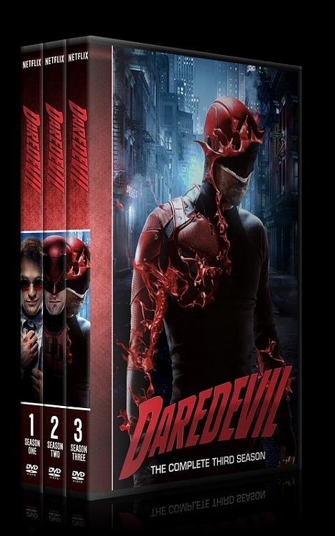 Daredevil (Seasons 1-3) - Custom Dvd Cover Set - English [2015-?]-0jpg
