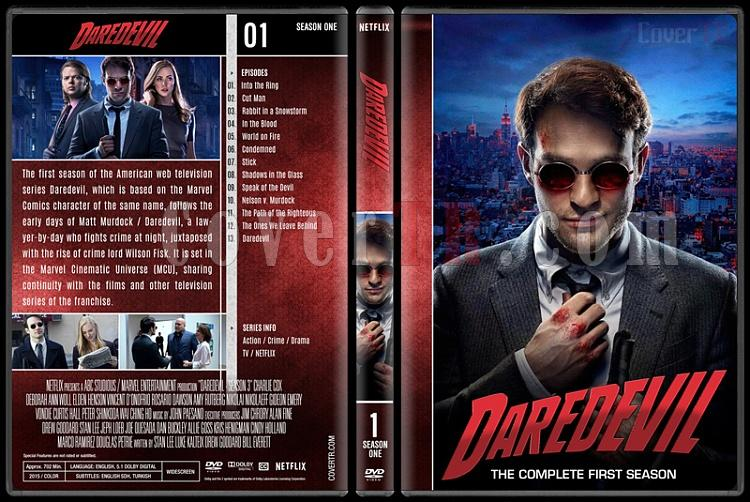 Daredevil (Seasons 1-3) - Custom Dvd Cover Set - English [2015-?]-1jpg