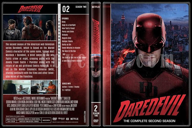 Daredevil (Seasons 1-3) - Custom Dvd Cover Set - English [2015-?]-2jpg