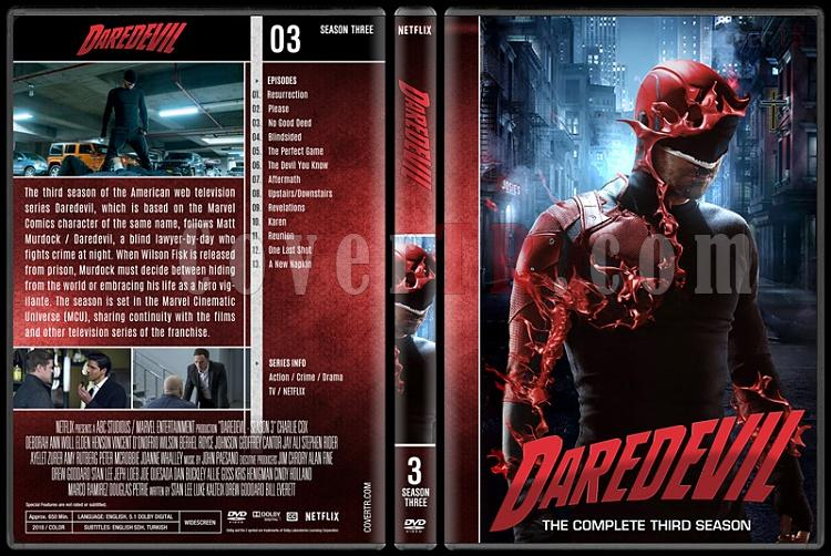 Daredevil (Seasons 1-3) - Custom Dvd Cover Set - English [2015-?]-3jpg