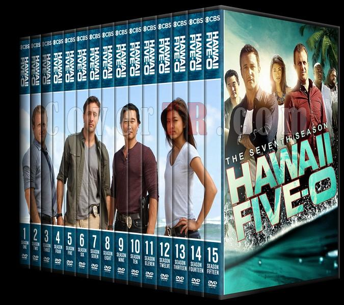 Hawaii Five-0 (Seasons 1-8) - Custom Dvd Cover Set - English [2010-?]-0jpg