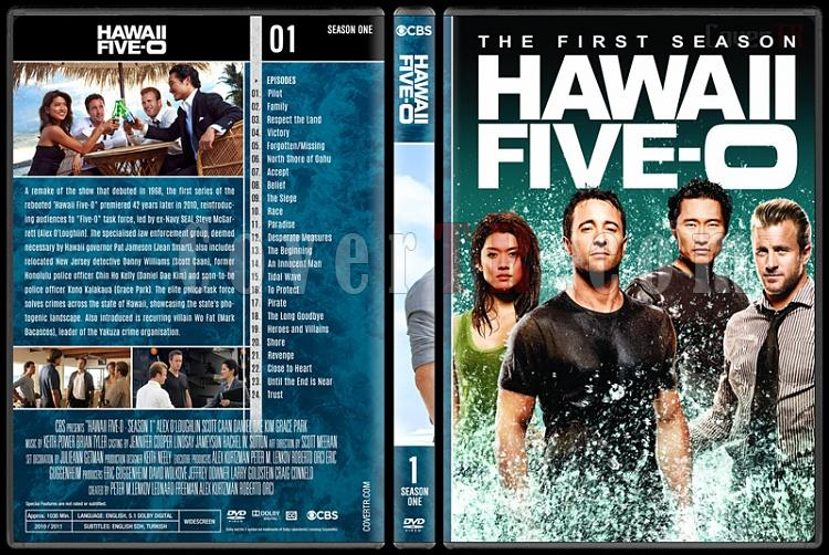 Hawaii Five-0 (Seasons 1-8) - Custom Dvd Cover Set - English [2010-?]-1jpg