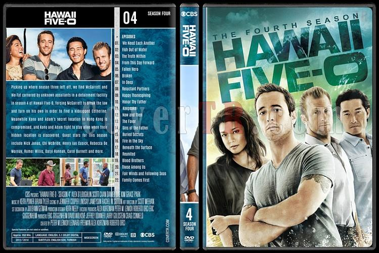 Hawaii Five-0 (Seasons 1-8) - Custom Dvd Cover Set - English [2010-?]-4jpg