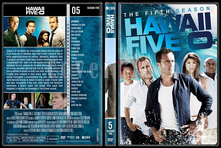 Hawaii Five-0 (Seasons 1-8) - Custom Dvd Cover Set - English [2010-?]-5jpg
