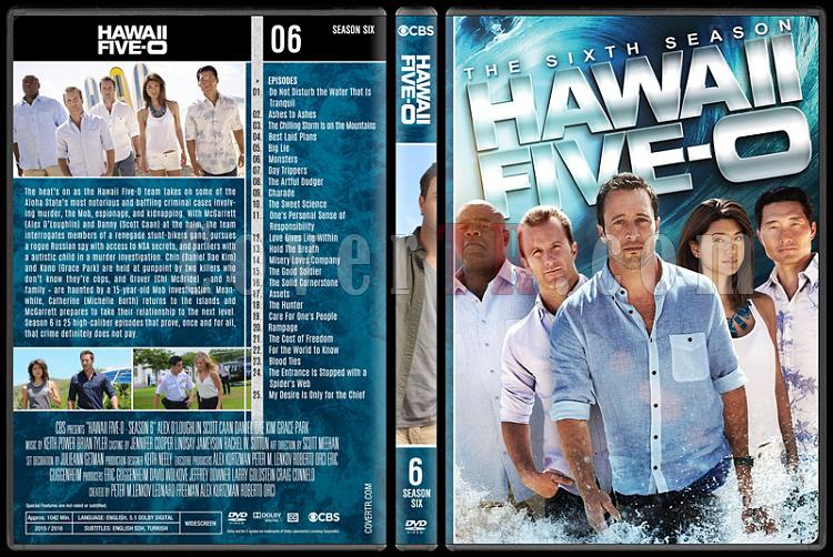 Hawaii Five-0 (Seasons 1-8) - Custom Dvd Cover Set - English [2010-?]-6jpg