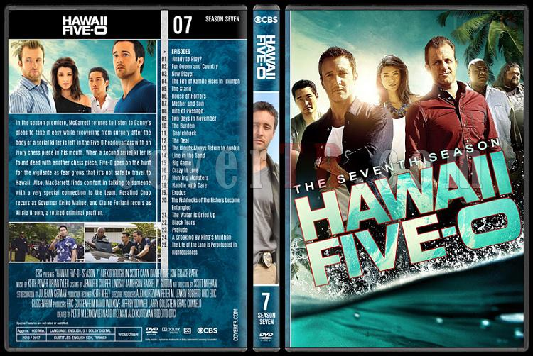 Hawaii Five-0 (Seasons 1-8) - Custom Dvd Cover Set - English [2010-?]-7jpg