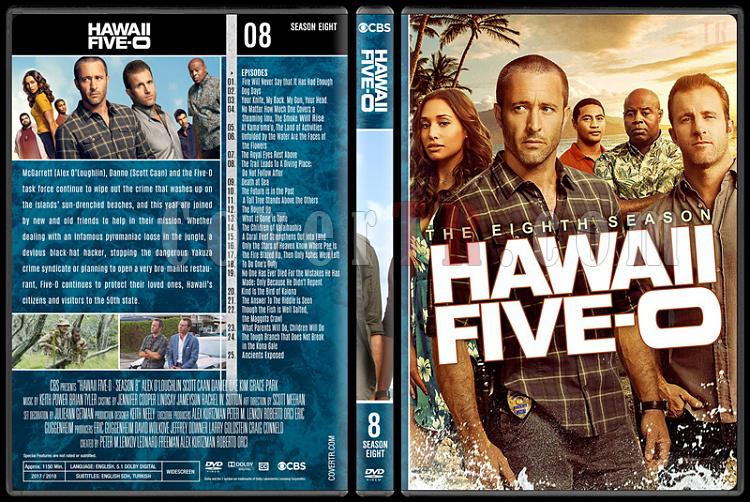Hawaii Five-0 (Seasons 1-8) - Custom Dvd Cover Set - English [2010-?]-8jpg