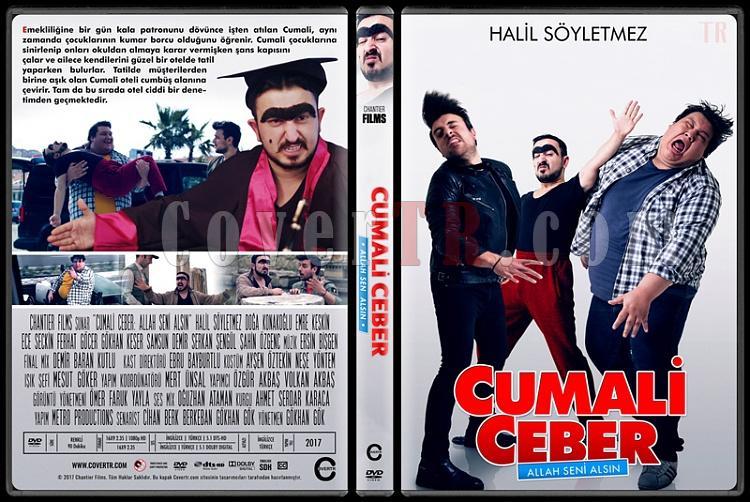 Cumali Ceber: Allah Seni Alsın - Custom Dvd Cover Set - Türkçe [2017-2018]-1jpg