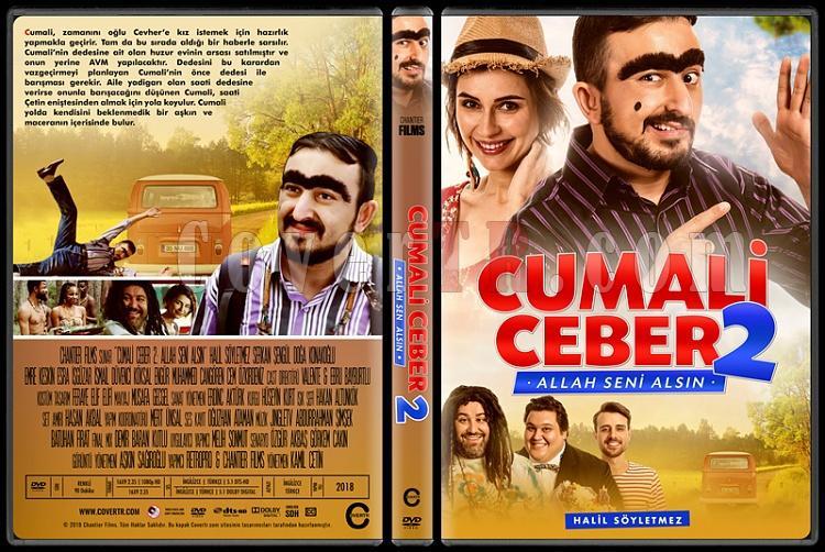 Cumali Ceber: Allah Seni Alsın - Custom Dvd Cover Set - Türkçe [2017-2018]-2jpg