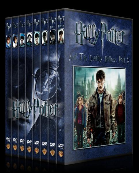Harry Potter Collection - Custom Dvd Cover Set - English [2001-2011]-setjpg
