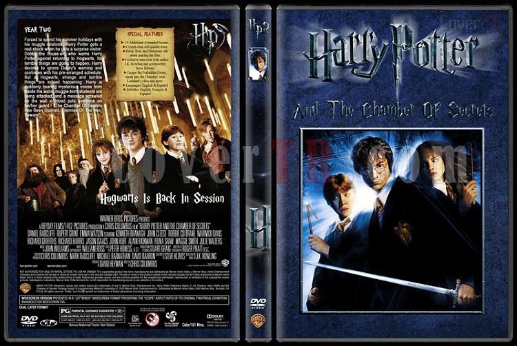 Harry Potter Collection - Custom Dvd Cover Set - English [2001-2011]-2-harry-potter-chamber-secretsjpg