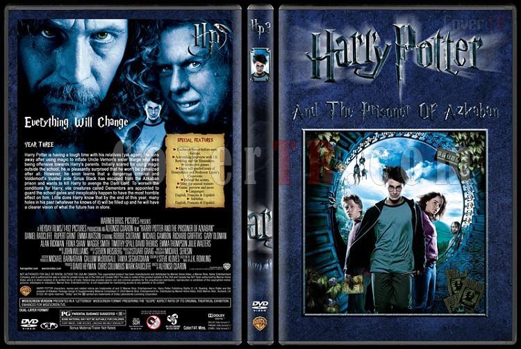 Harry Potter Collection - Custom Dvd Cover Set - English [2001-2011]-3-harry-potter-prisoner-azkabanjpg