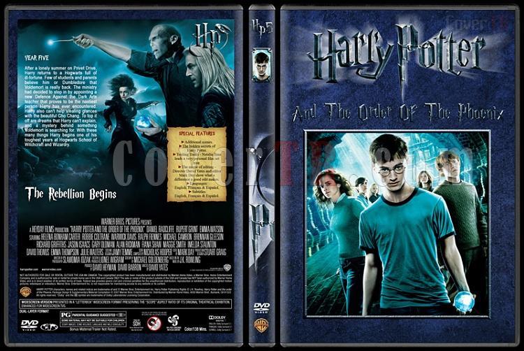Harry Potter Collection - Custom Dvd Cover Set - English [2001-2011]-5-harry-potter-order-phoenixjpg