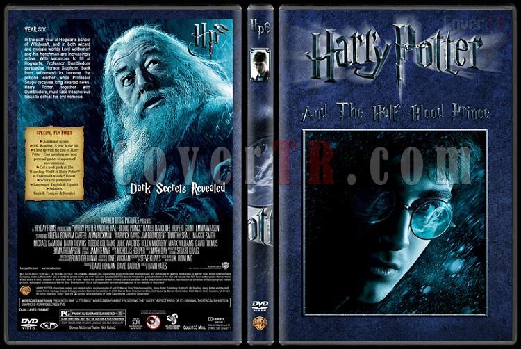 Harry Potter Collection - Custom Dvd Cover Set - English [2001-2011]-6-harry-potter-half-blood-princejpg
