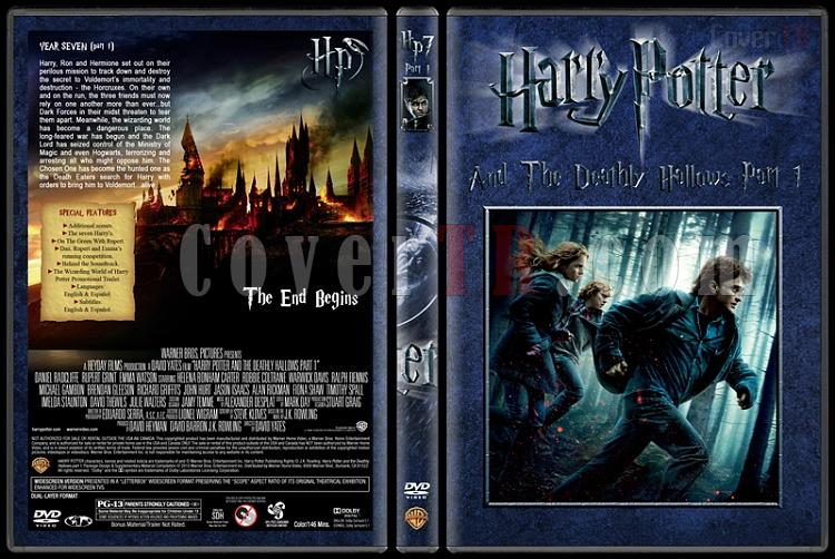 Harry Potter Collection - Custom Dvd Cover Set - English [2001-2011]-7-harry-potter-deathly-hallows-part-1jpg