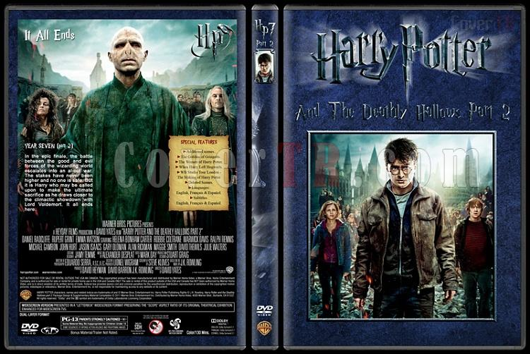 Harry Potter Collection - Custom Dvd Cover Set - English [2001-2011]-8-harry-potter-deathly-hallows-part-2jpg