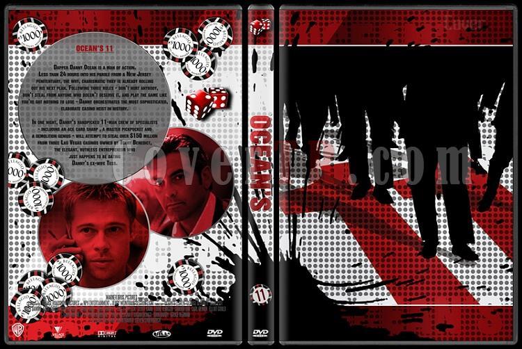Ocean's Collection - Custom Dvd Cover Set - English [2001-2007]-oceans-11-dvd-coverjpg