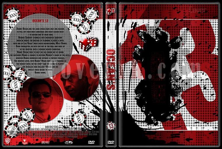 Ocean's Collection - Custom Dvd Cover Set - English [2001-2007]-oceans-13-dvd-coverjpg