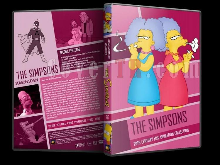 Simpsons (Season 1-10) - Custom Dvd Cover Set - English [1989-?]-simpsons-season-07-dvd-coverjpg