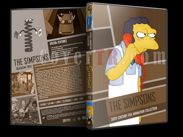 Simpsons (Season 1-10) - Custom Dvd Cover Set - English [1989-?]-simpsons-season-10-dvd-coverjpg