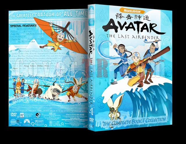 Avatar: The Last Airbender (Season 1-3) - Custom Dvd Cover Set - English [2005-2008]-01jpg