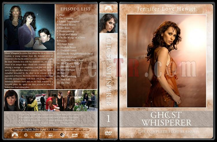 Ghost whisperer (Season 1-5) - Custom Dvd Cover Set - English [2005-2010]-01jpg