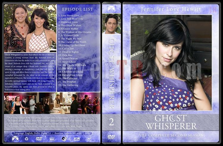 Ghost whisperer (Season 1-5) - Custom Dvd Cover Set - English [2005-2010]-02jpg