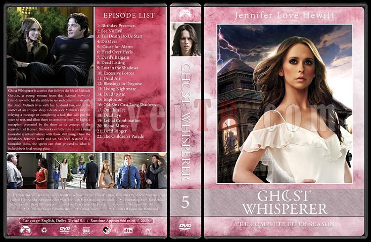 Ghost whisperer (Season 1-5) - Custom Dvd Cover Set - English [2005-2010]-05jpg