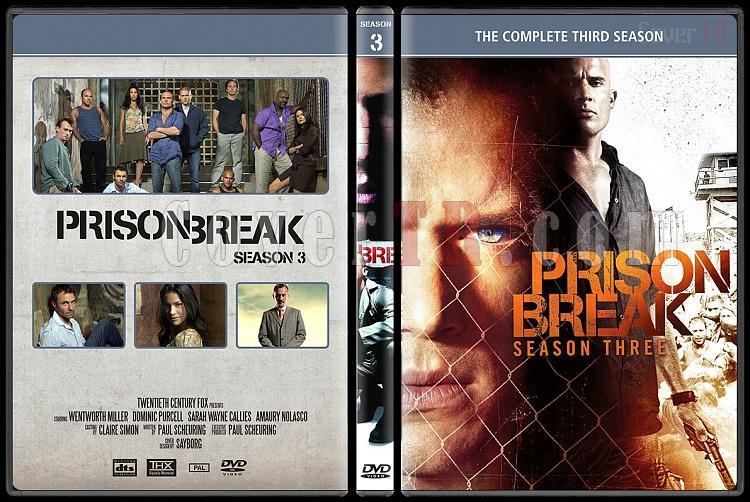 Prison Break Seasons 1 4 Custom Dvd Cover Set English