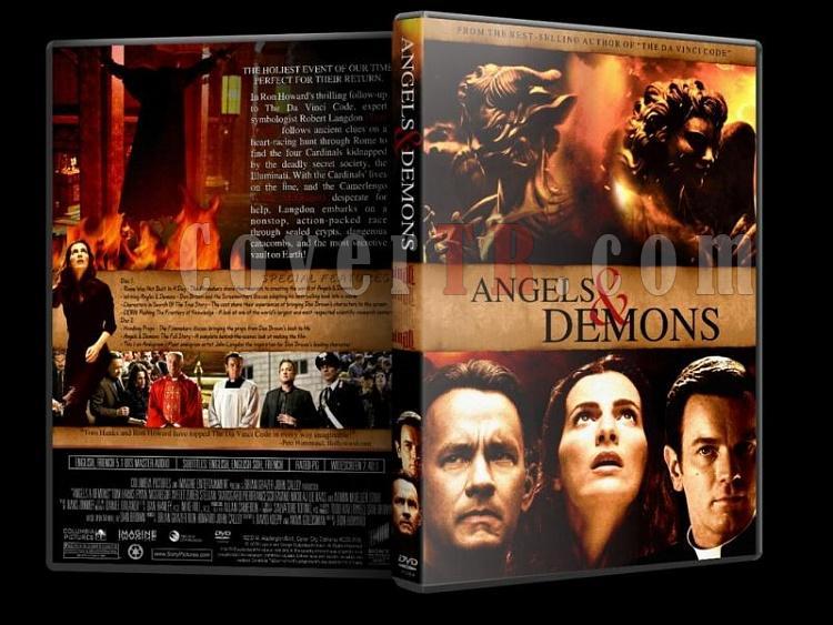 The Da Vinci Code - Angels & Demons - DVD Coverset-02jpg