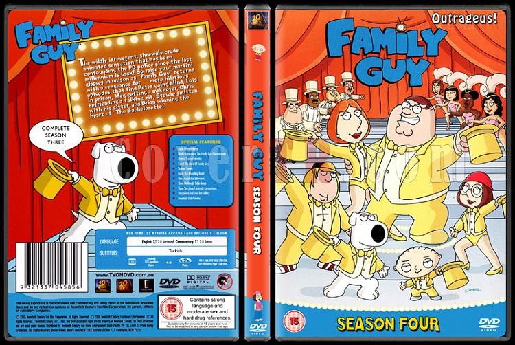 Family Guy (Season 1-9) - Scan Dvd Cover Set - English [1999-?]-4jpg