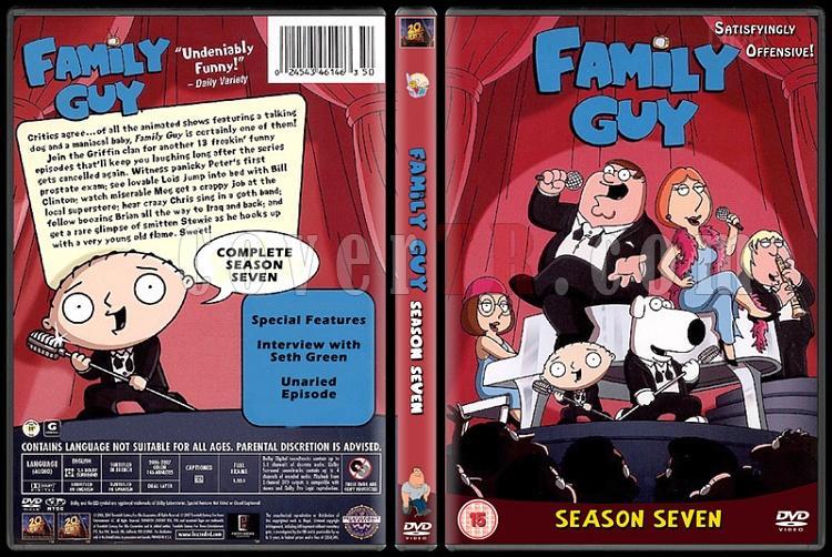 Family Guy (Season 1-9) - Scan Dvd Cover Set - English [1999-?]-7jpg