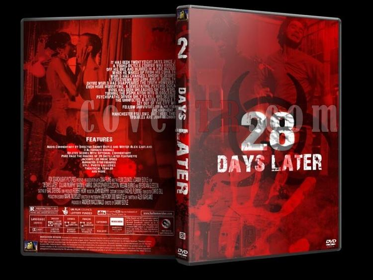 28 Days & Weeks Later - Custom Dvd Cover Set - English [2002-2007]-28-days-laterjpg