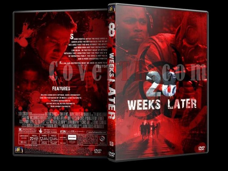 28 Days & Weeks Later - Custom Dvd Cover Set - English [2002-2007]-28-weeks-laterjpg