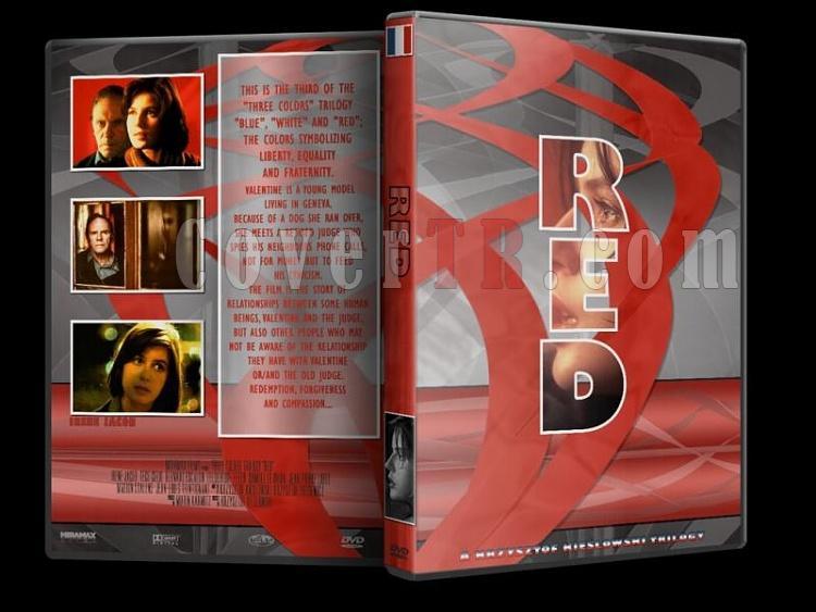 Three Colours (Trilogy) - Custom Dvd Cover Set [1993-1994]-rjpg