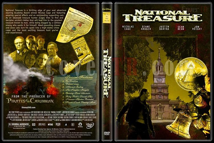 National Treasure (Büyük Hazine) Collection - Custom Dvd Cover Set - English [2004-2007]-national-treasure-dvd-coverjpg