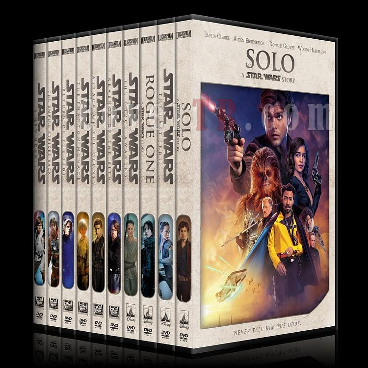 Star Wars Collection - Custom Dvd Cover Set - English [1977-2018]-0jpg