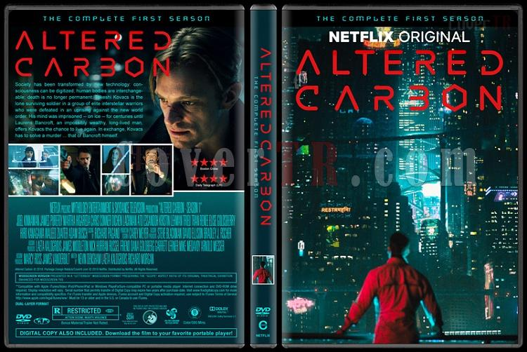 Altered Carbon (Season 1) - Custom Dvd Cover Box Set - English [2018-?]-1jpg