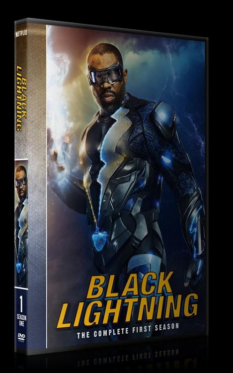 Black Lightning (Season 1) - Custom Dvd Cover Box Set - English [2018-?]-0jpg