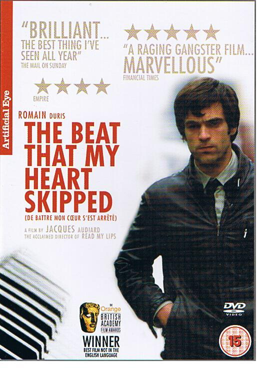 De battre mon coeur s'est arrêté (The Beat That My Heart Skipped) (2005) DVD COVER & LABEL-beat-my-heart-skippedjpg