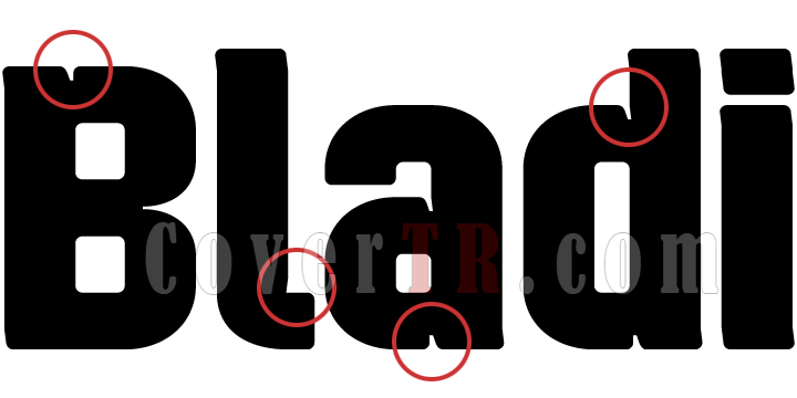 Bladi Two 4F Font-45522png