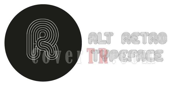 Alt Retro Font-50114png