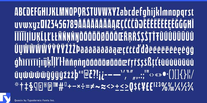 Quasix Font-177046jpg