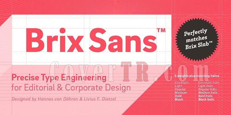 Brix Sans TR Font-146849jpg